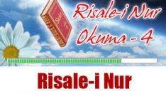 Risale-i Nur Okuma 4